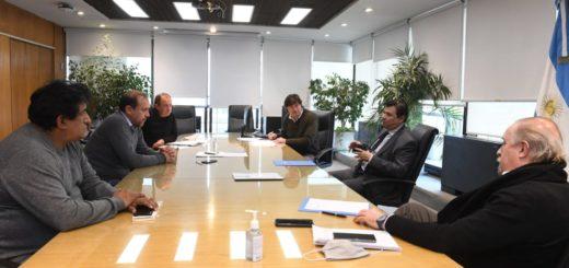 El ministro Moroni recibió a cooperativistas la semana pasada.
